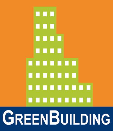 Green Building logotyp färg